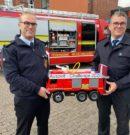 Feuerwehr Modell in Wilhelmshaven angekommen